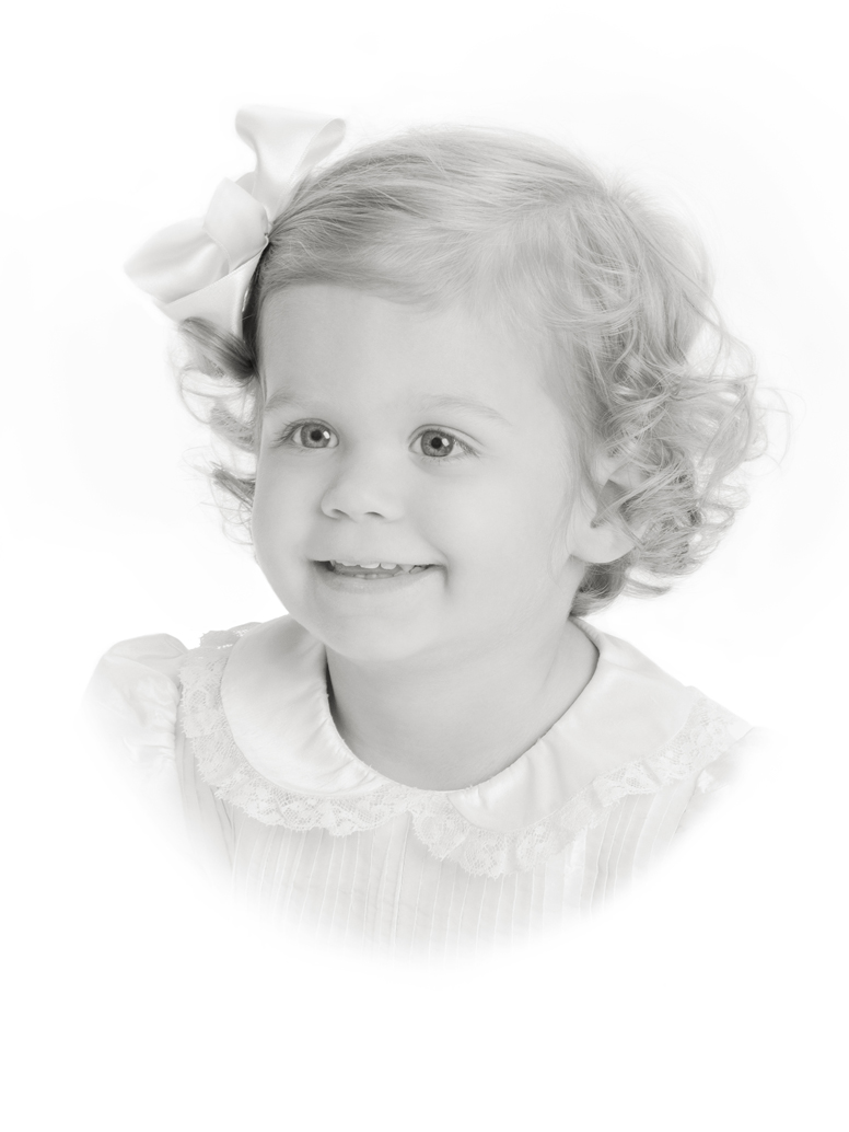 Dementi studio blog archive childrens spring portrait on white