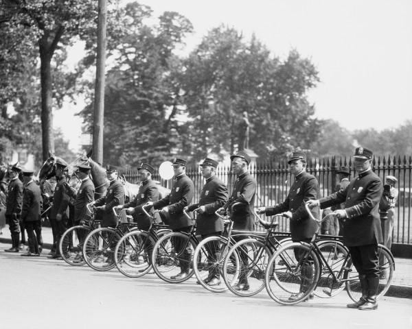 VA State Police on Bikes 1959