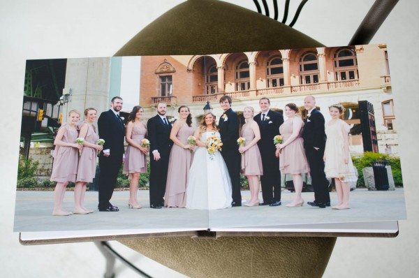 Wedding Album Full Page Spread