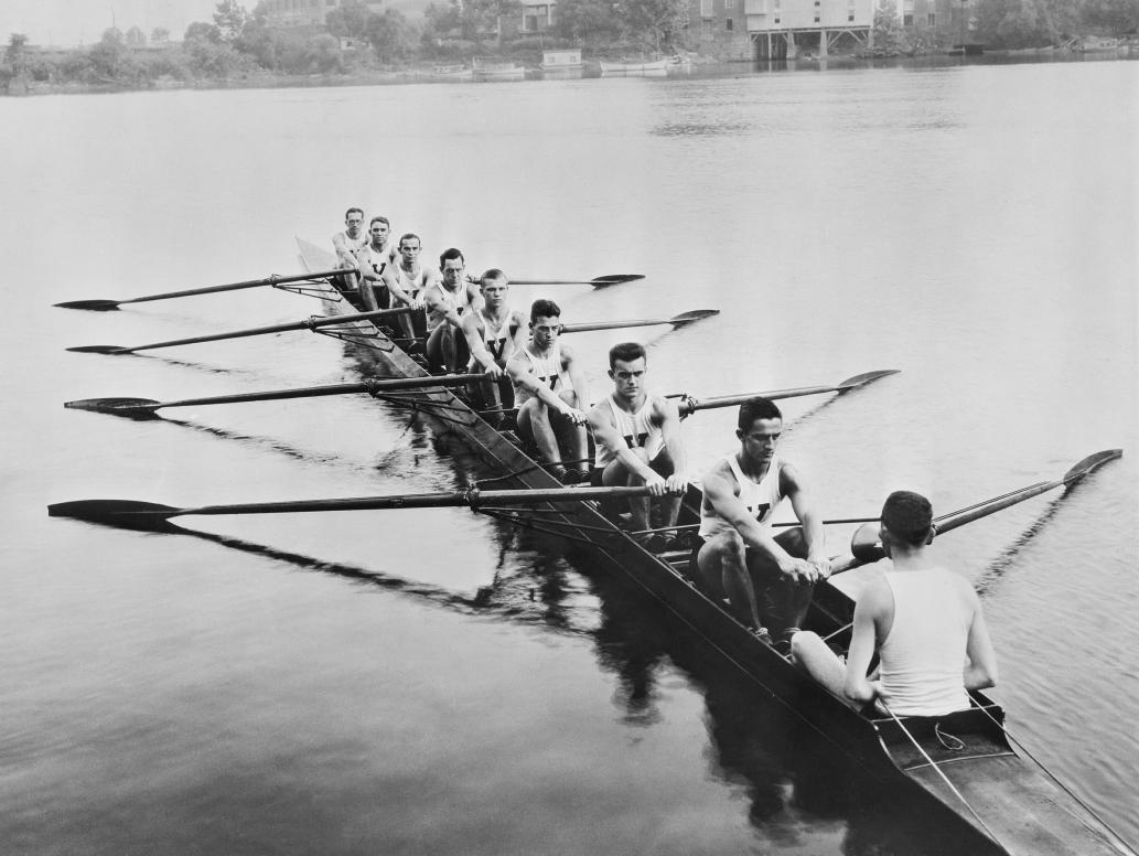 Virginia Boat Club Rowing 1934