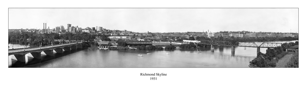 Richmond Skyline 1931
