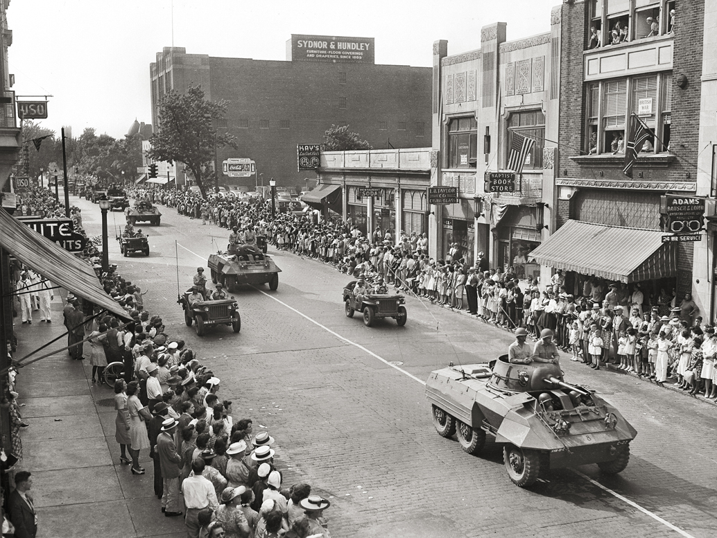 World War II Bond Parade 1944