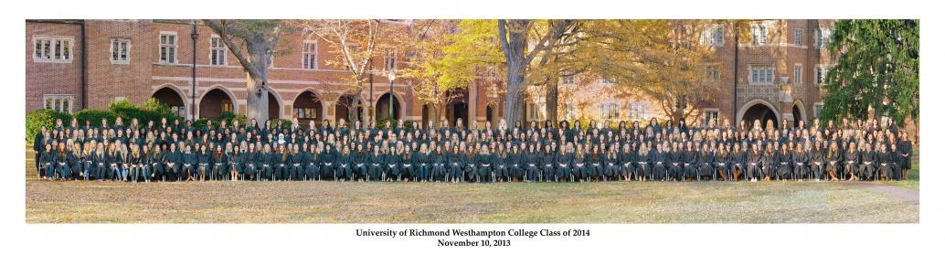 University of Richmond Westhampton College - 400 person panorama