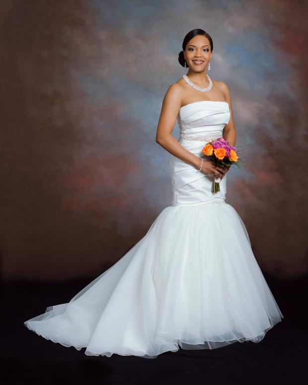 Bridal Portrait on Old Masters